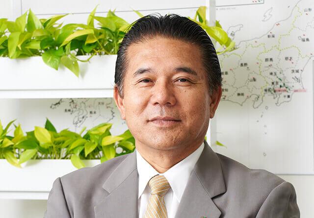 国土緑化株式会社 代表取締役 堺 亜琉